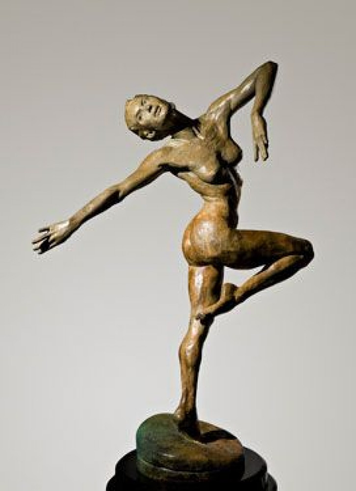 Summer Bronze Sculpture 2006 21in