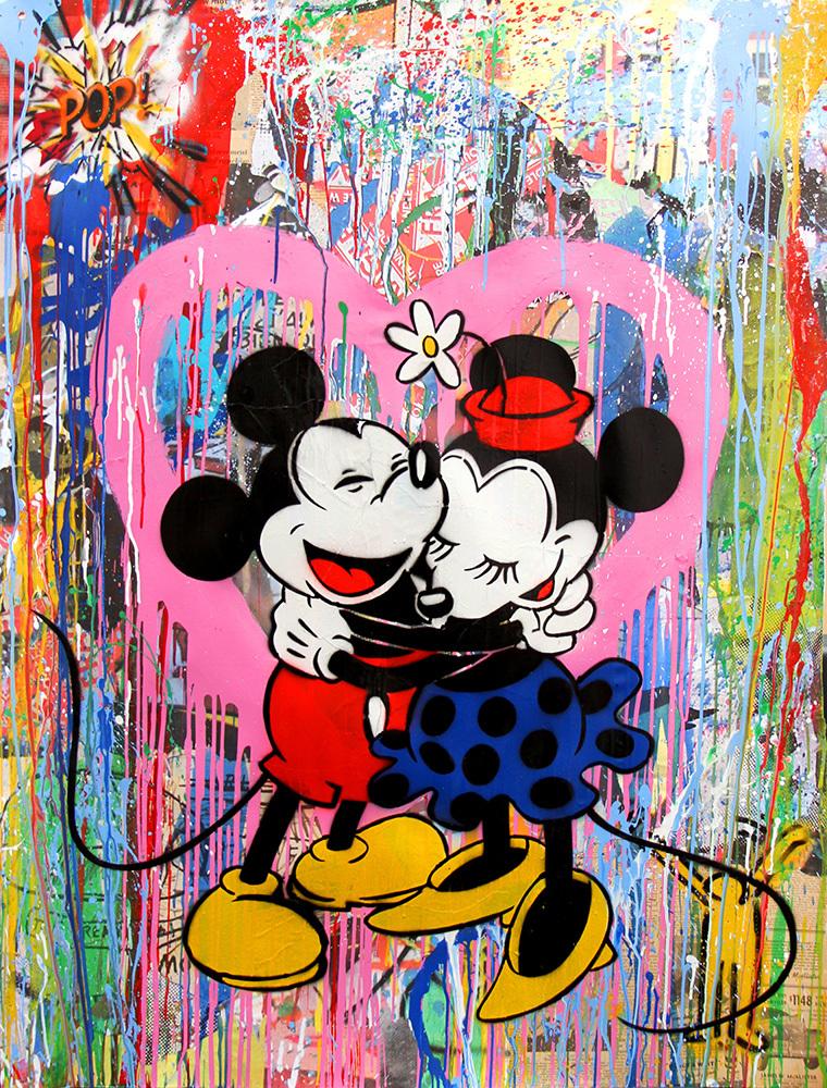 Mr brainwash art for sale for Mural painted by street artist mr brainwash