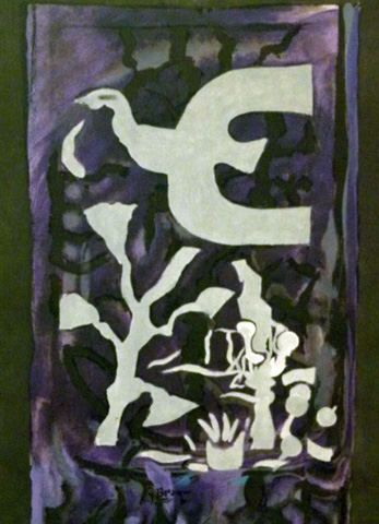 Le Vitrail 1962 by Georges Braque