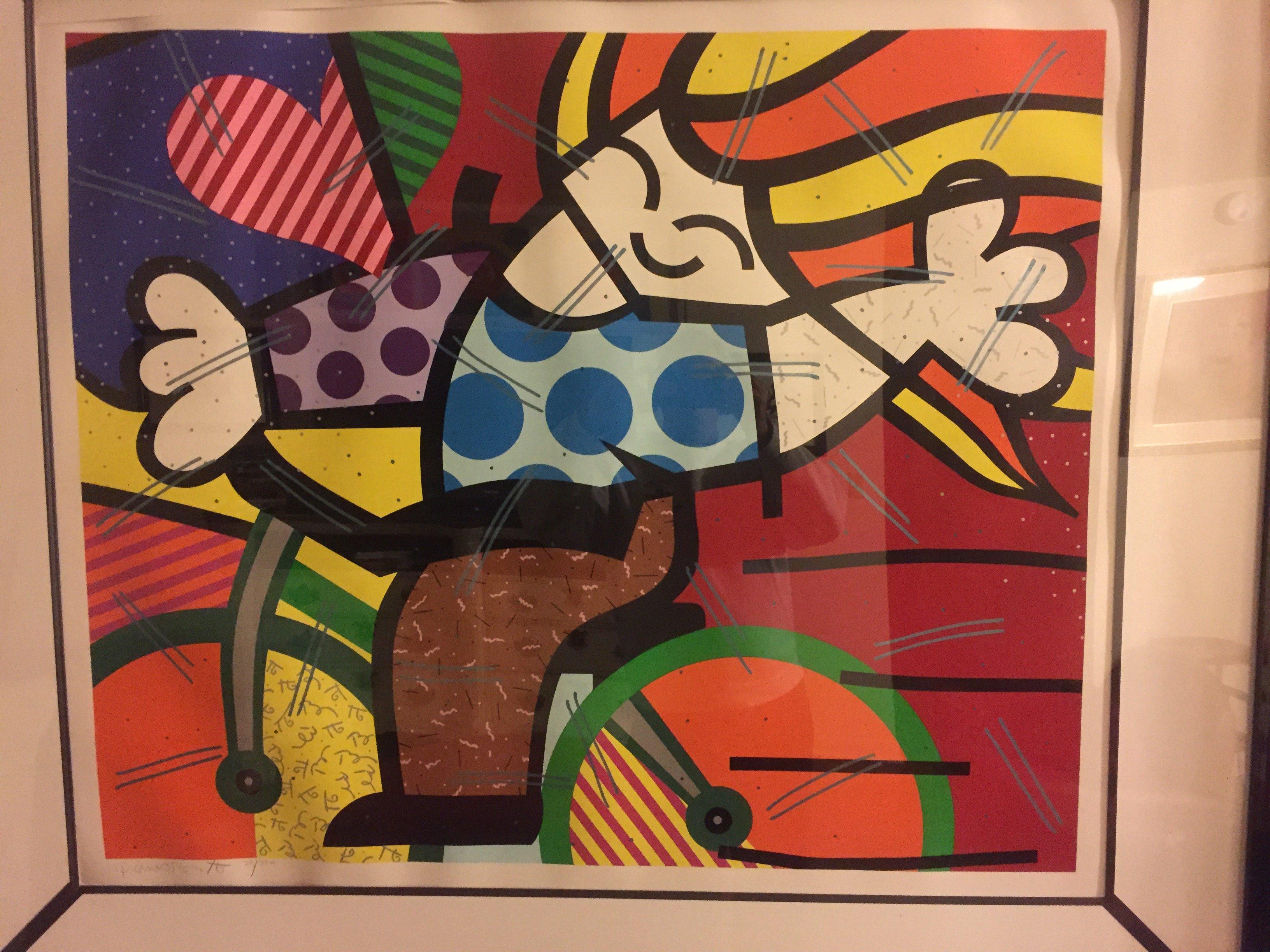 Romero Britto Art For Sale