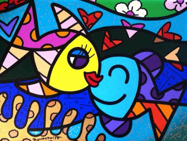 Two Fish 2011 28x34