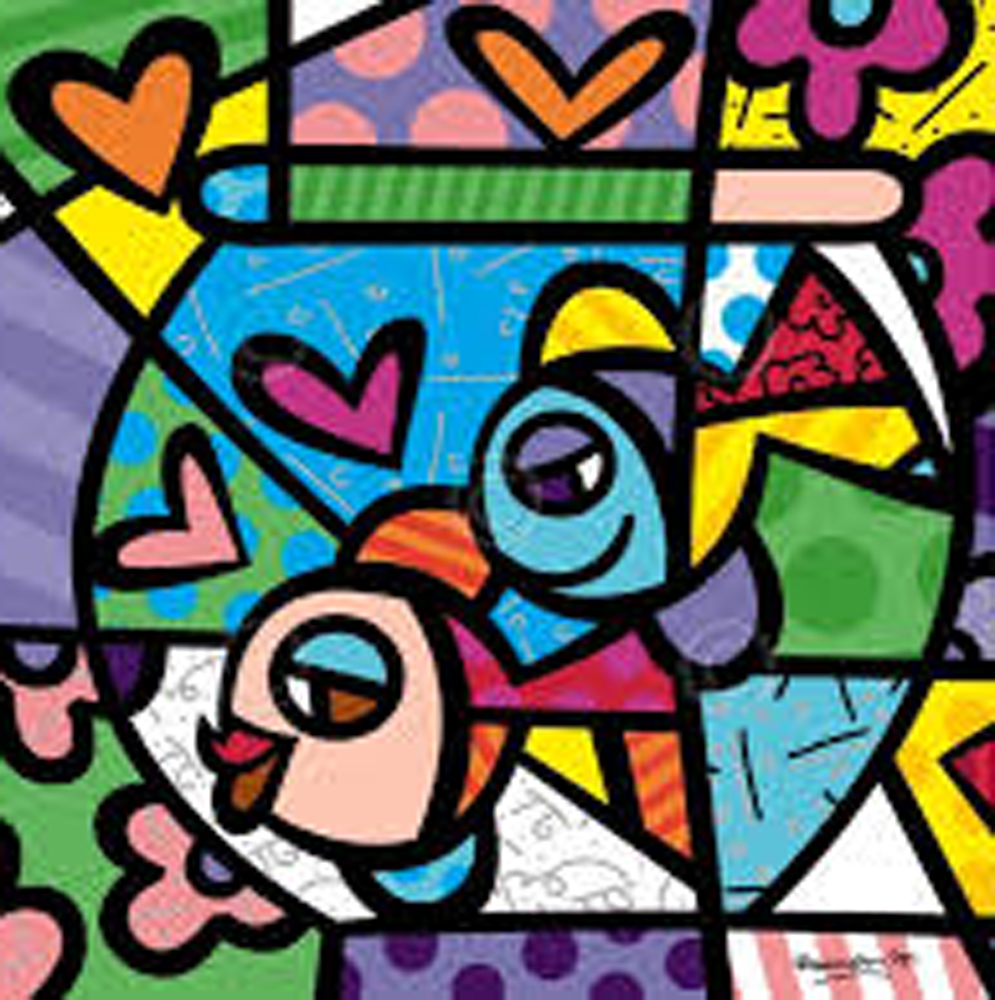 Romero Britto Art For Sale