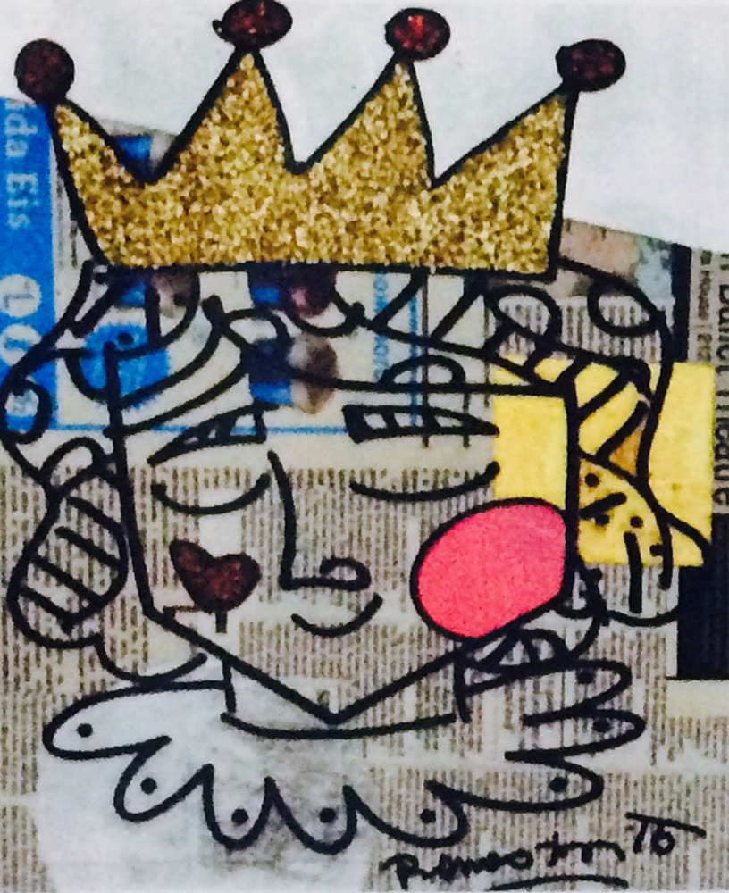 Little Prince 2015 22x25 Newsprint
