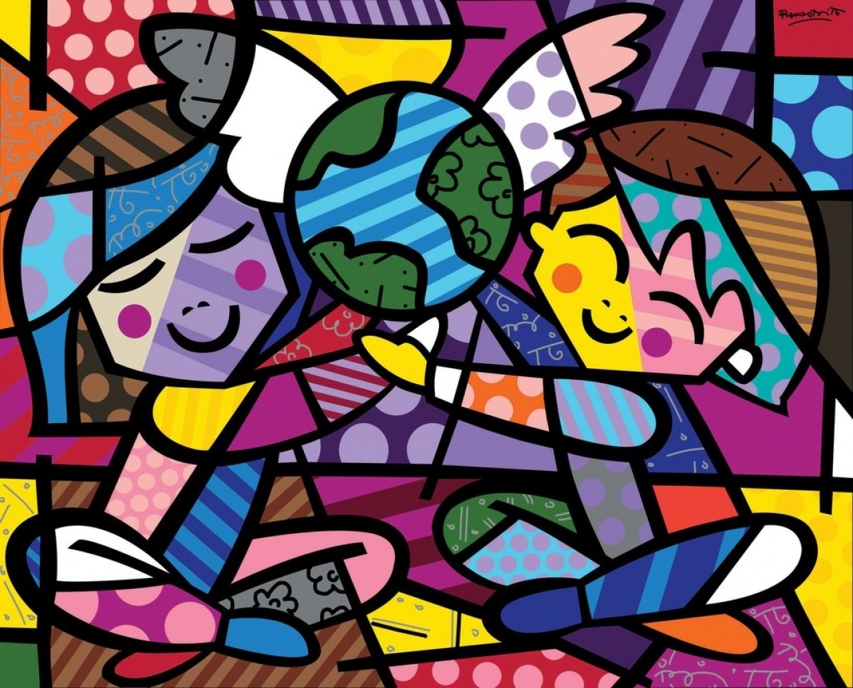 Britto Paintings Images