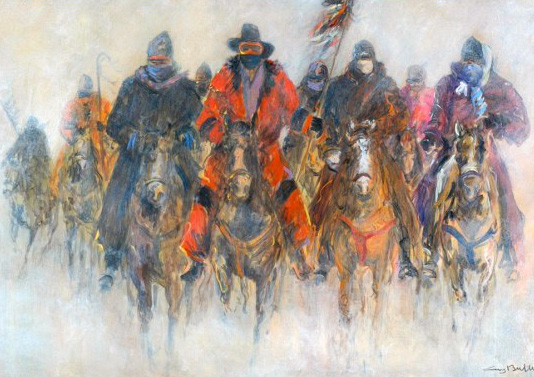 Meeting At Wounded Knee 40x55
