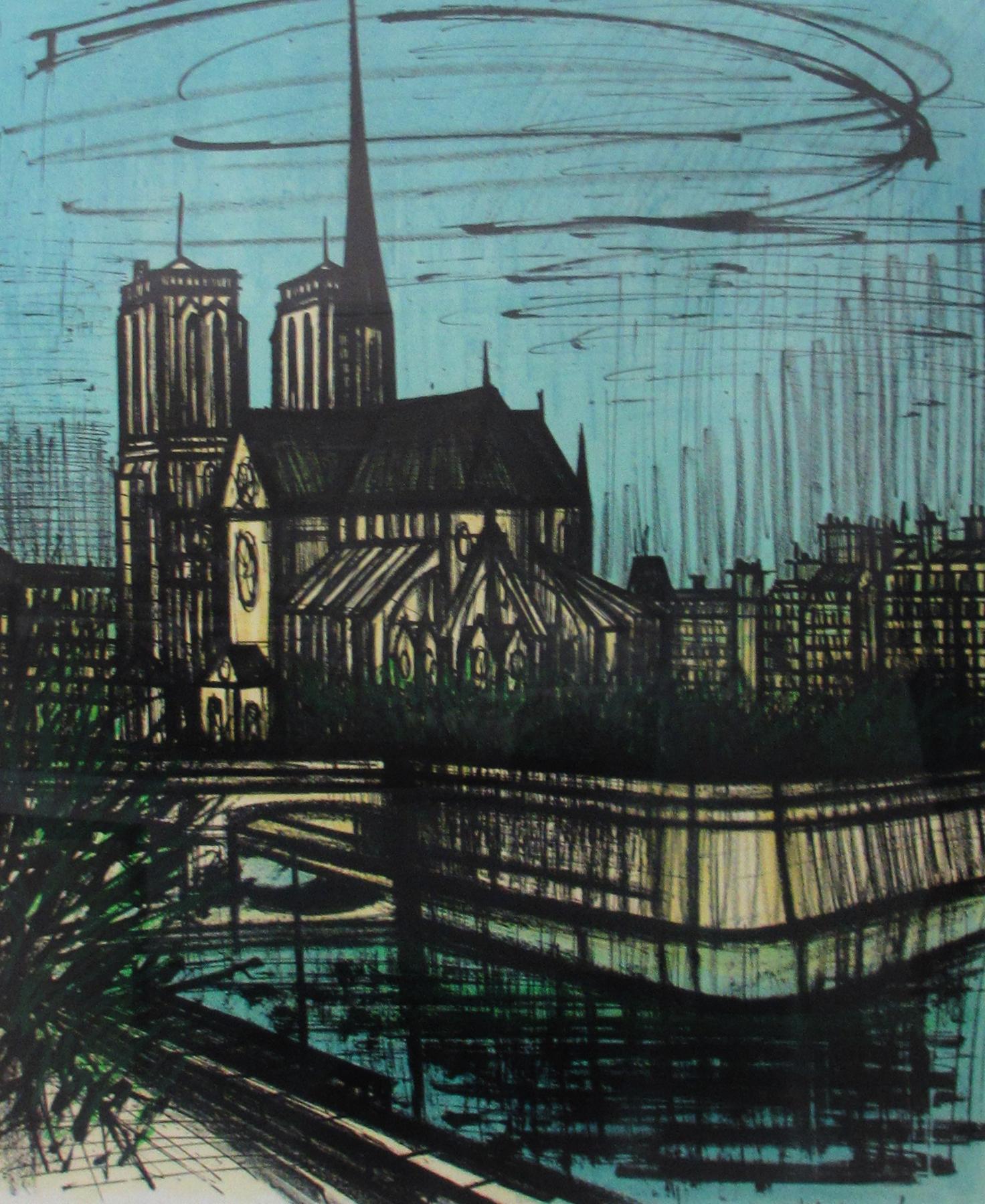 Pleasant Notre Dame De Paris 1968 By Bernard Buffet Beutiful Home Inspiration Ponolprimenicaraguapropertycom