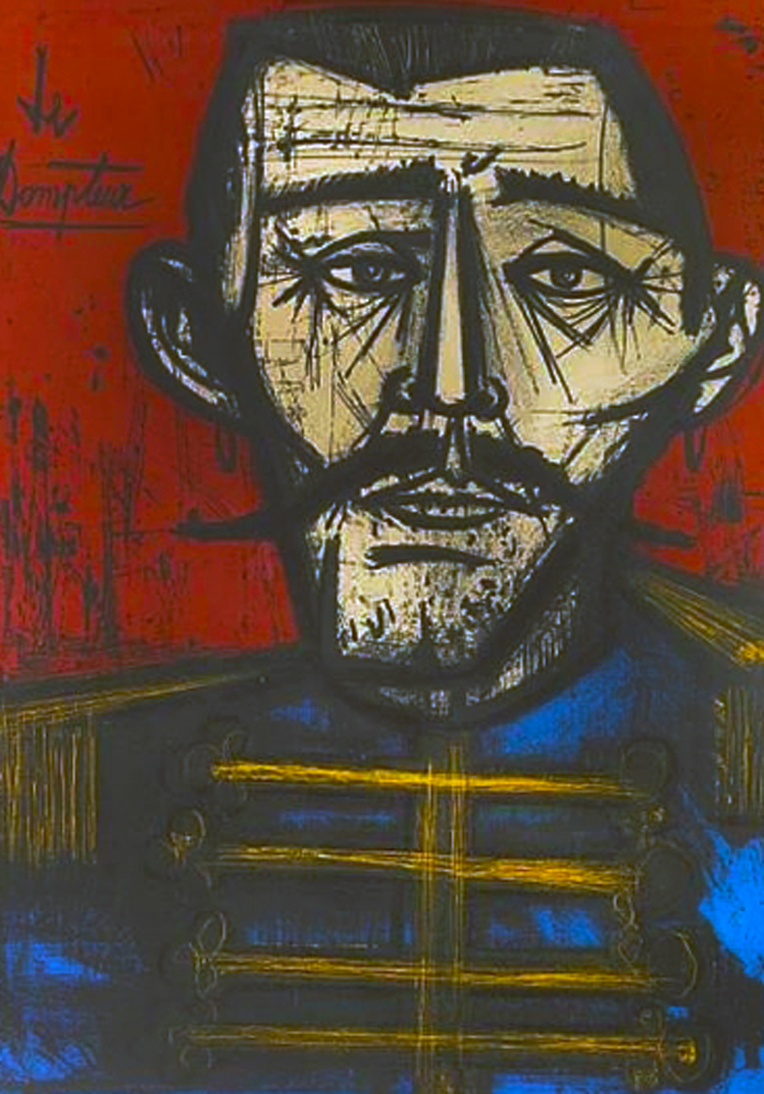 Le Dompteur 1968 by Bernard Buffet