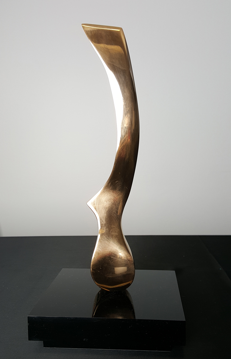Wind Knife Bronze Sculpture 2013 13 in