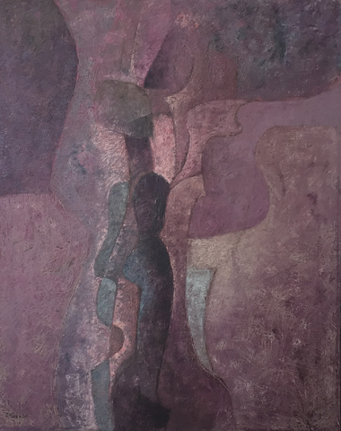 Untitled Figure 1980 29x35