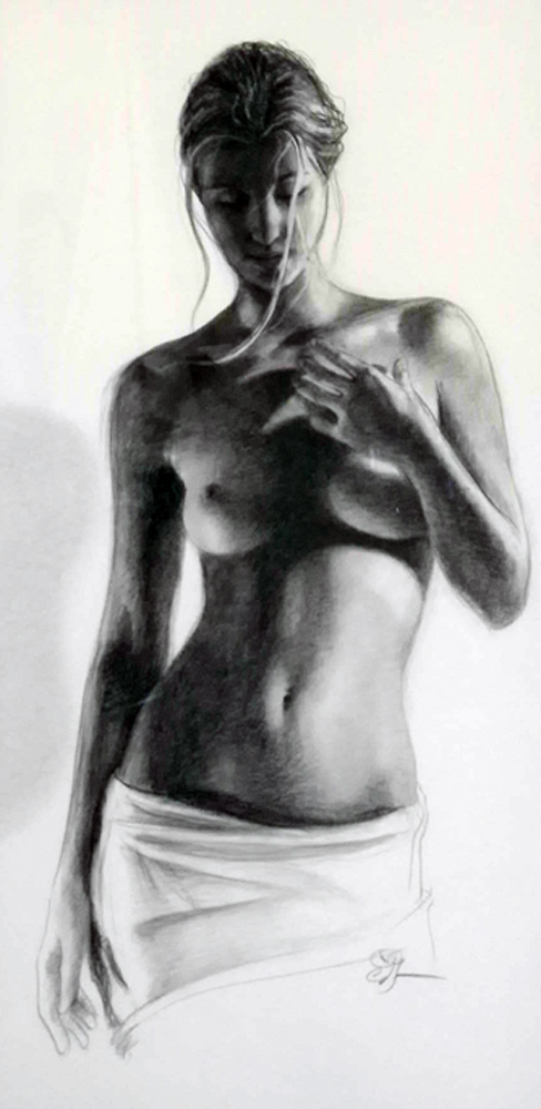 Bronze Drawing 2009  47x38