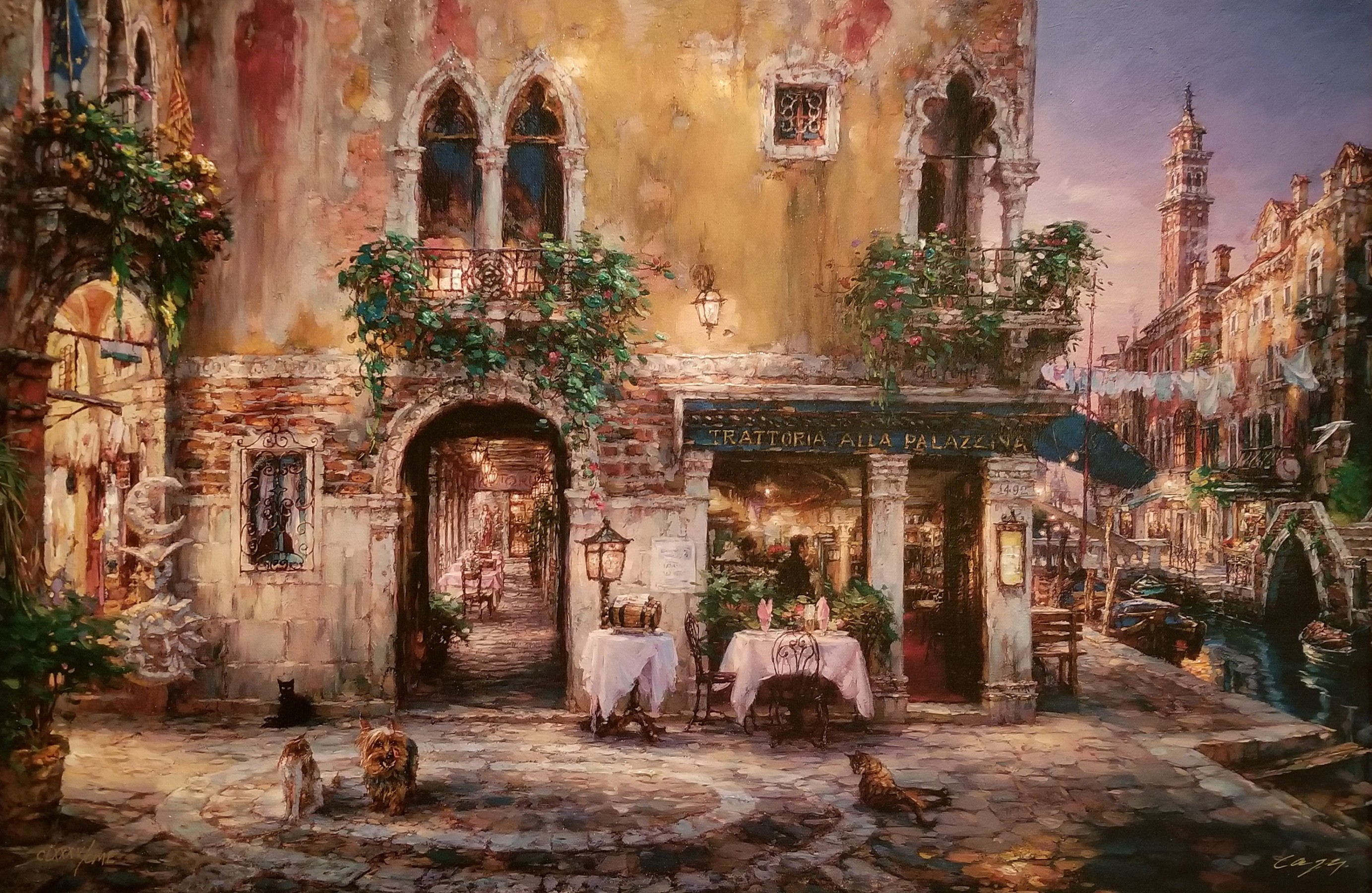 Evening in Venice Embellished 2003