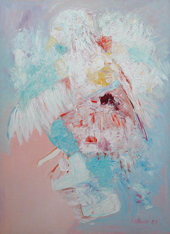 Eagle Dancer 1987 60x48