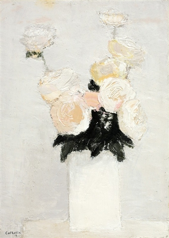 Roses Blanches 1985 27x19