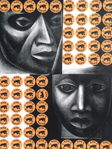 Negro Es Bello II - Black is Beautiful PP 1969 by Elizabeth Catlett