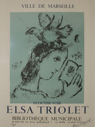 Homage to Elsa Triolet 1972