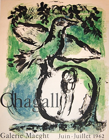 The Green Bird Poster 1962 by