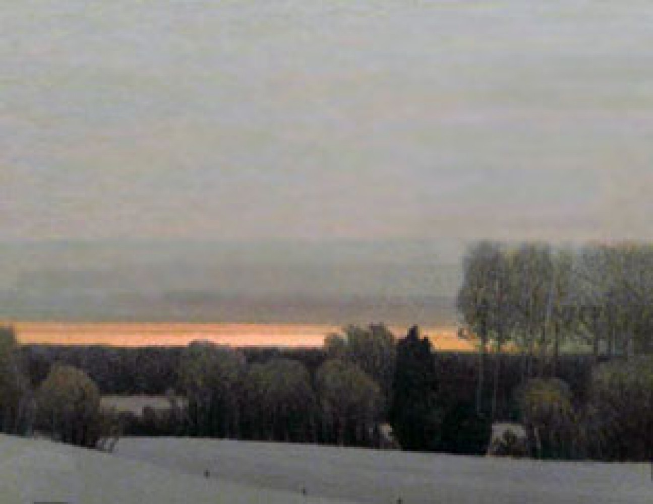 Sunset on a Winter Evening 1990