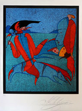Untitled Suite of 2 Lithographs
