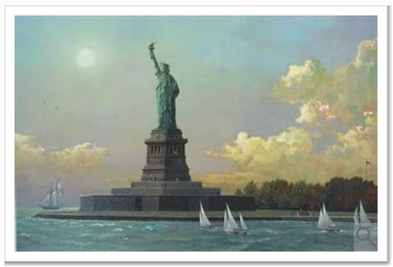 Liberty Island  Statue of Liberty Embellished