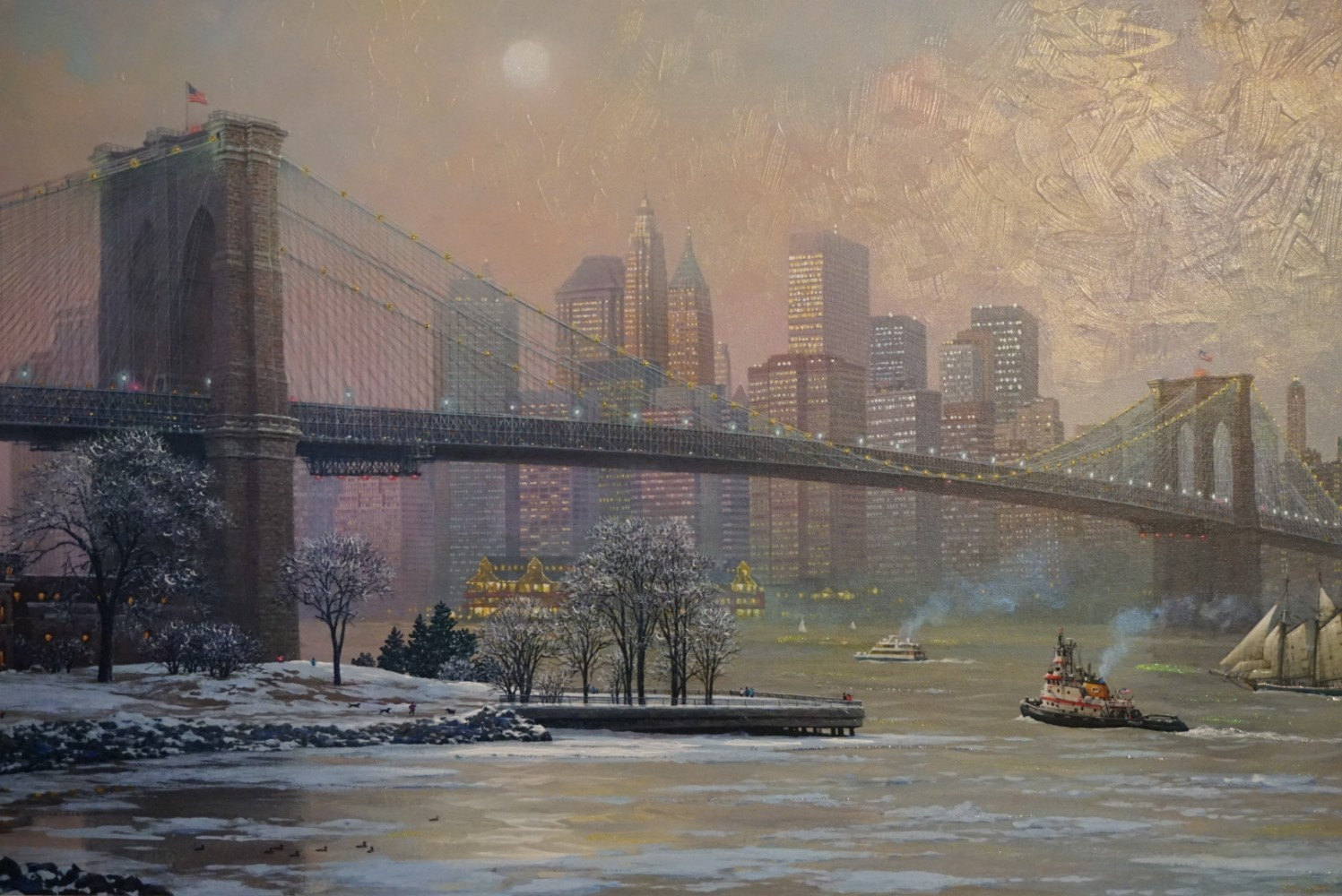 Brooklyn Bridge Camber Embellished 2013