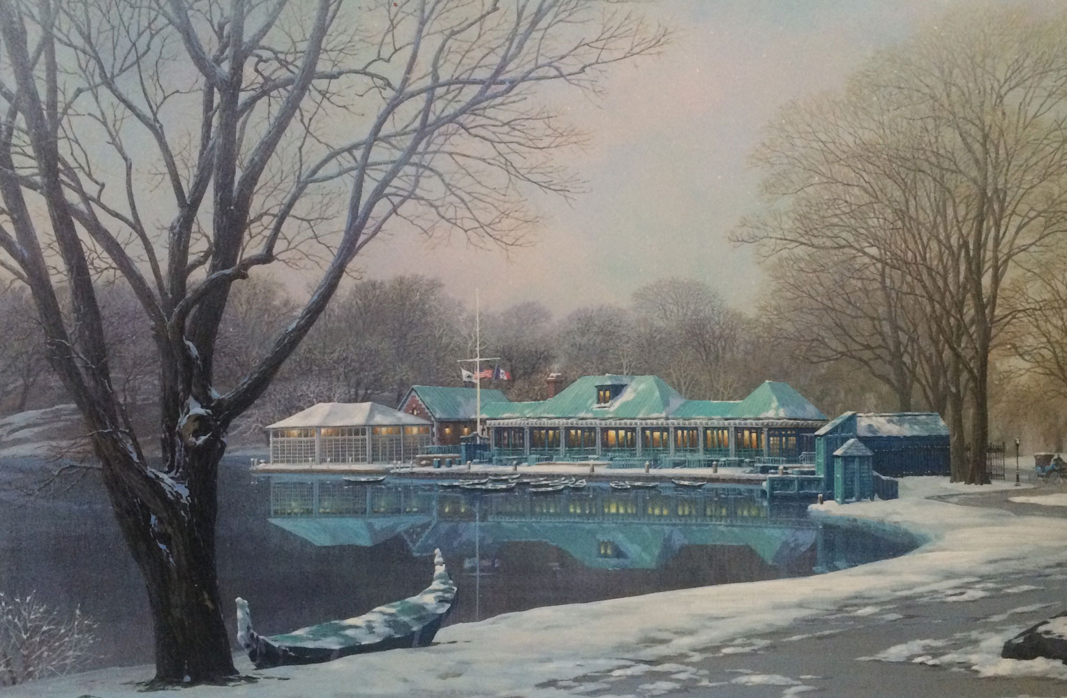 Loeb Boathouse Central Park 2007