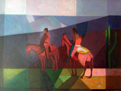 Untitled Riders 1985 33x43