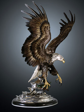 Eagles Domain Bronze Sculpture
