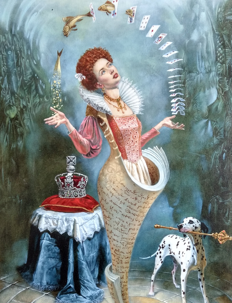 Magica Lesson 2016 26x34 by Michael Cheval