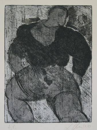 Untitled Lithograph 1987