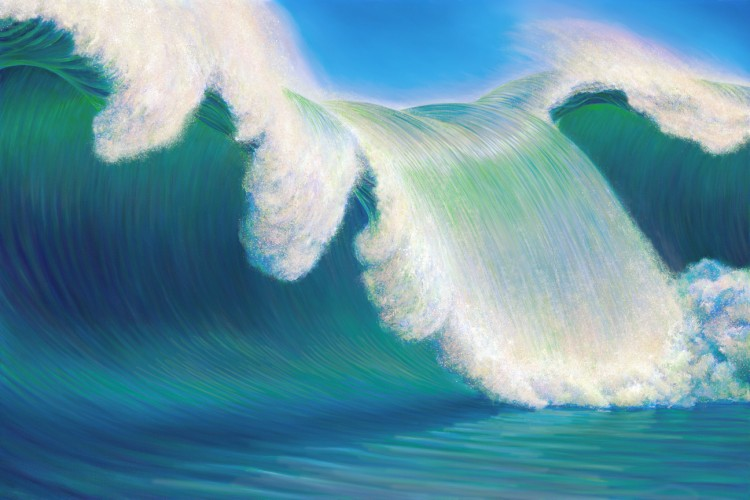Rogue Wave 2013 40x60