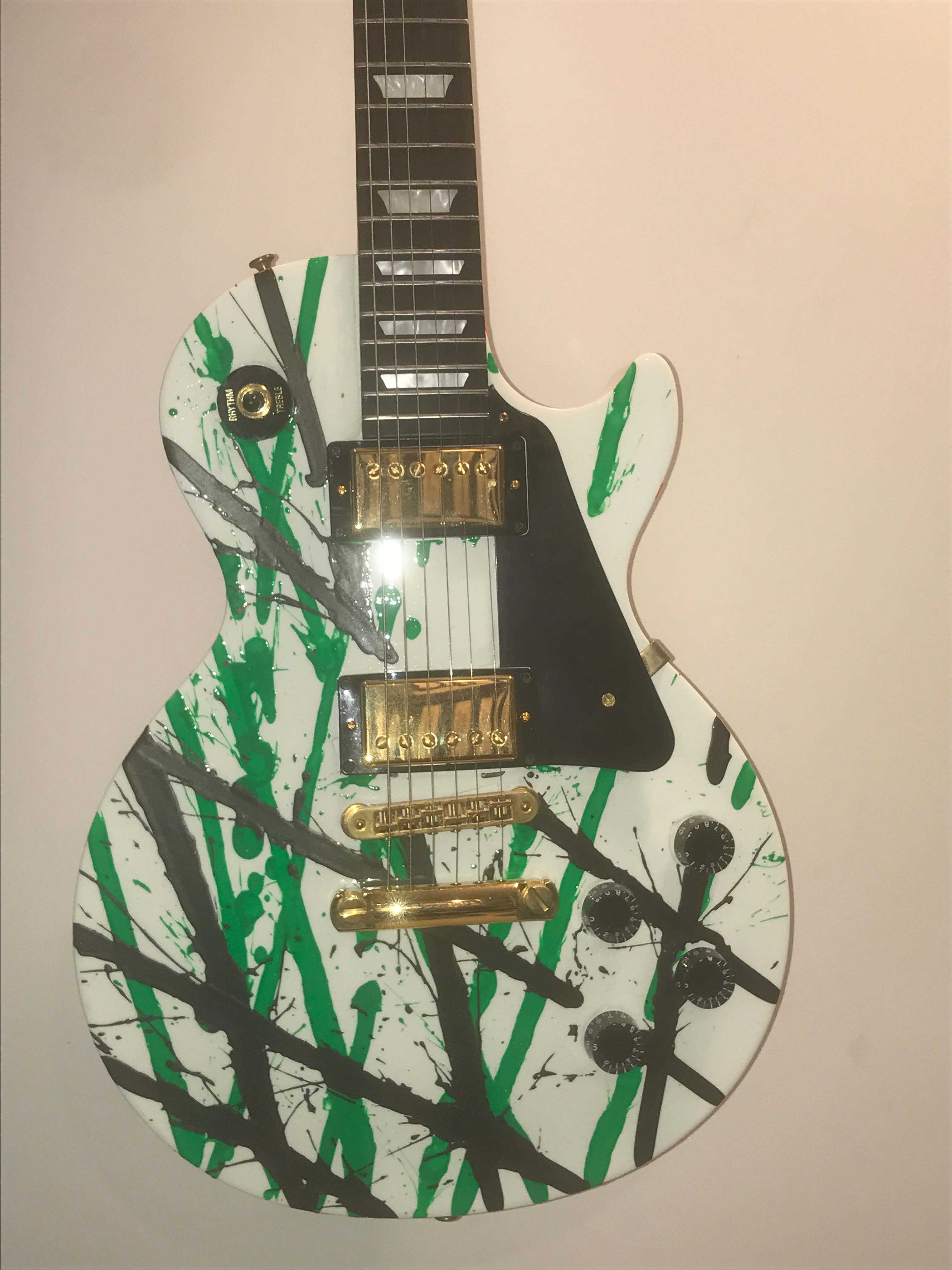 Untitled Hand Painted Gibson Guitar