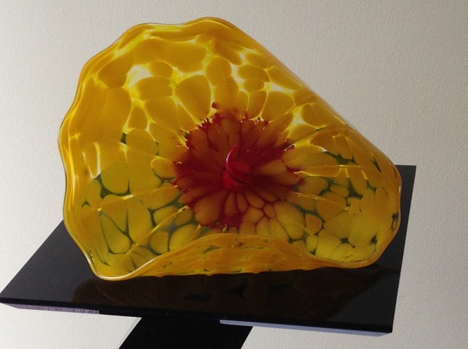 Bel Fiore Glass Sculpture 2005
