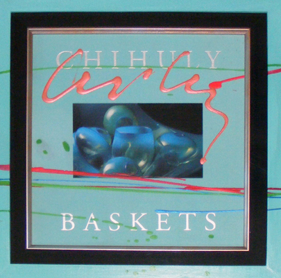 Chihuly Baskets Painting on wood 1997