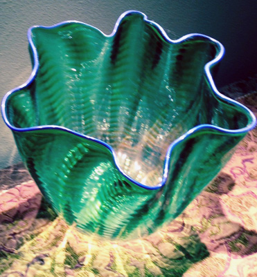 Seaform Glass Sculpture 1997