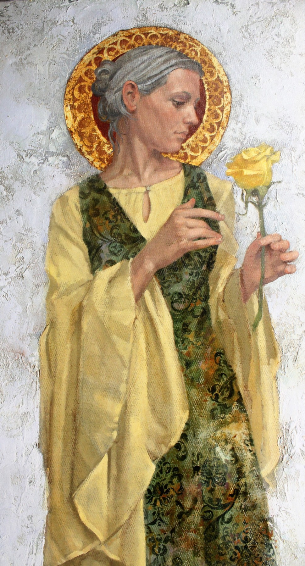 Yellow Rose 2009 by James Christensen