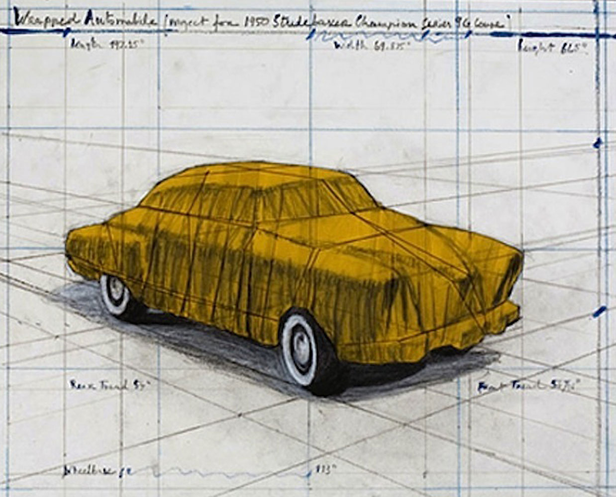 Wrapped Automobile 2015 by Javacheff   Christo
