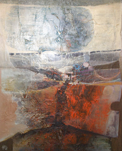 Untitled Abstract Painting 1975