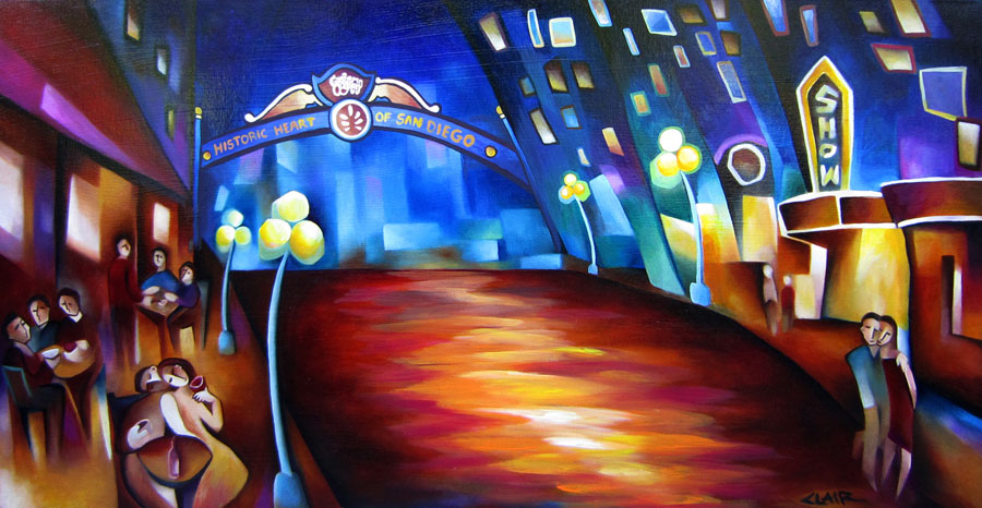 Paint the Town San Diego 26x48