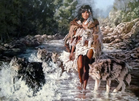 Wolf People Crossing 1998