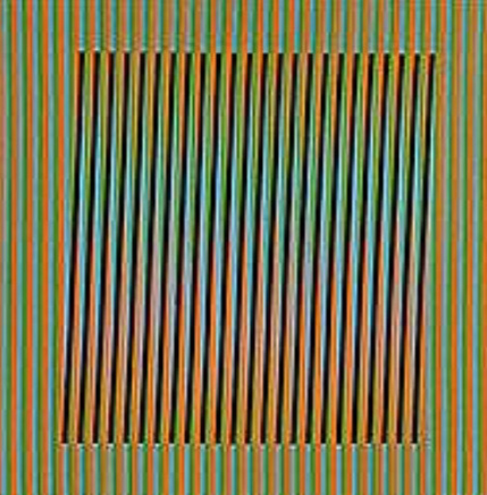Ceramique Serie 7, Ceramic Sculpture 2008 by Carlos Cruz-Diez