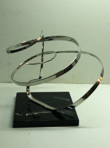 Chrome Kinetic Sculpture 1983