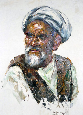 Portrait From Teheran - Iran 28x23