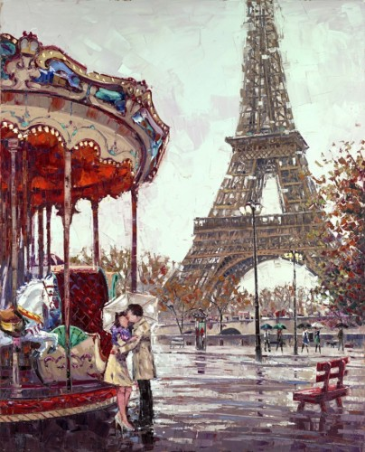 Amour E Paris 2014 62x50