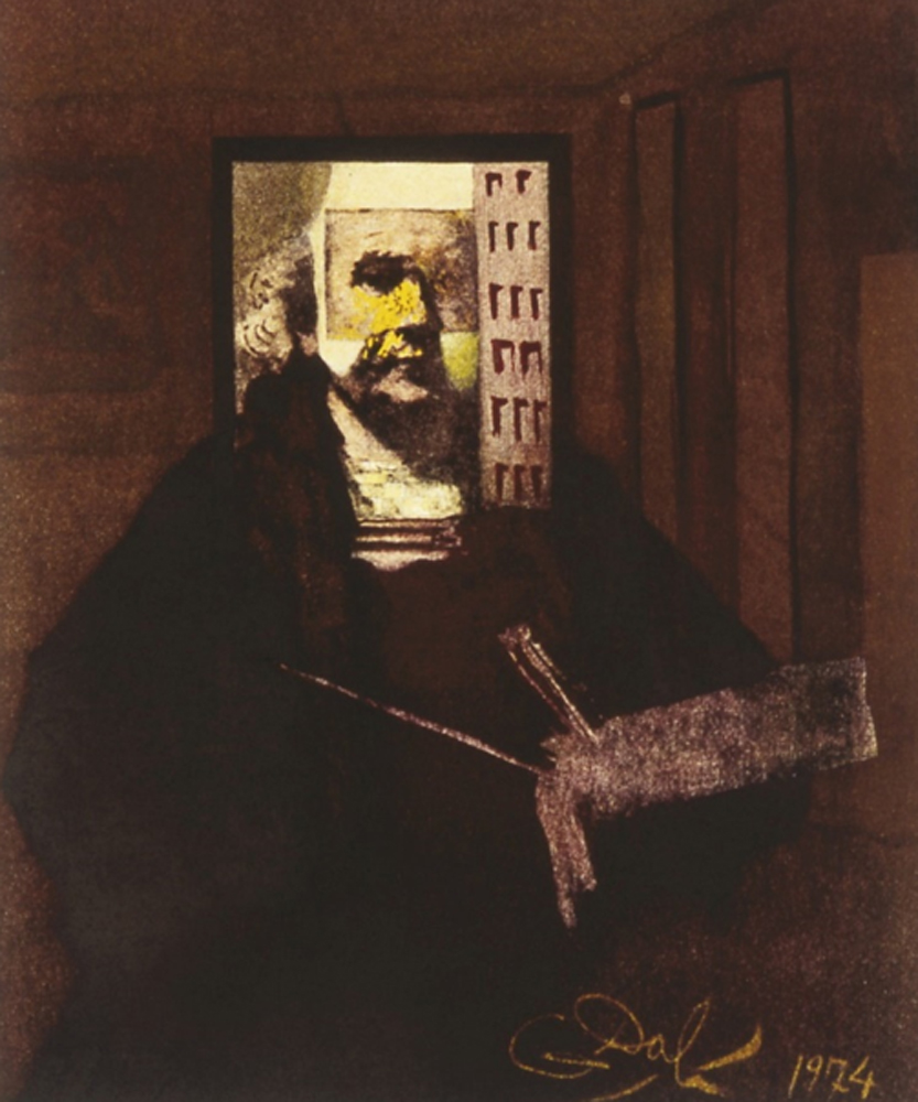 Rembrandt -  Self Portrait 1974