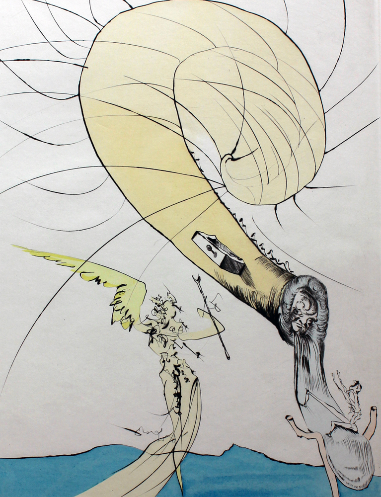 Freud a Tete D'escargot (Freud With Snail Head) 1974