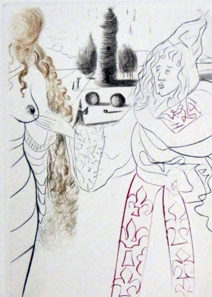 Decameron (Suite of 10 Drypoints) 1972