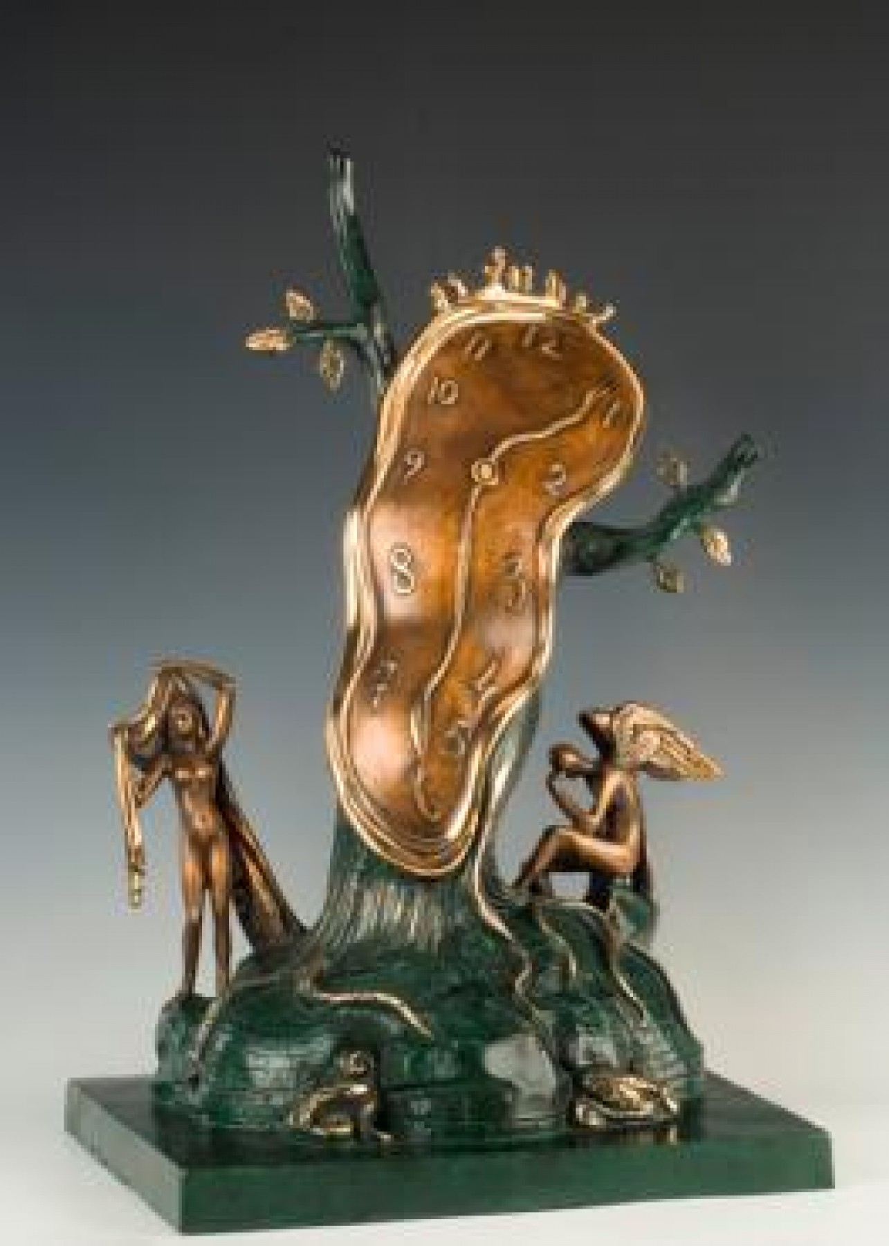 Nobility of Time Bronze Sculpture 1977 23 in