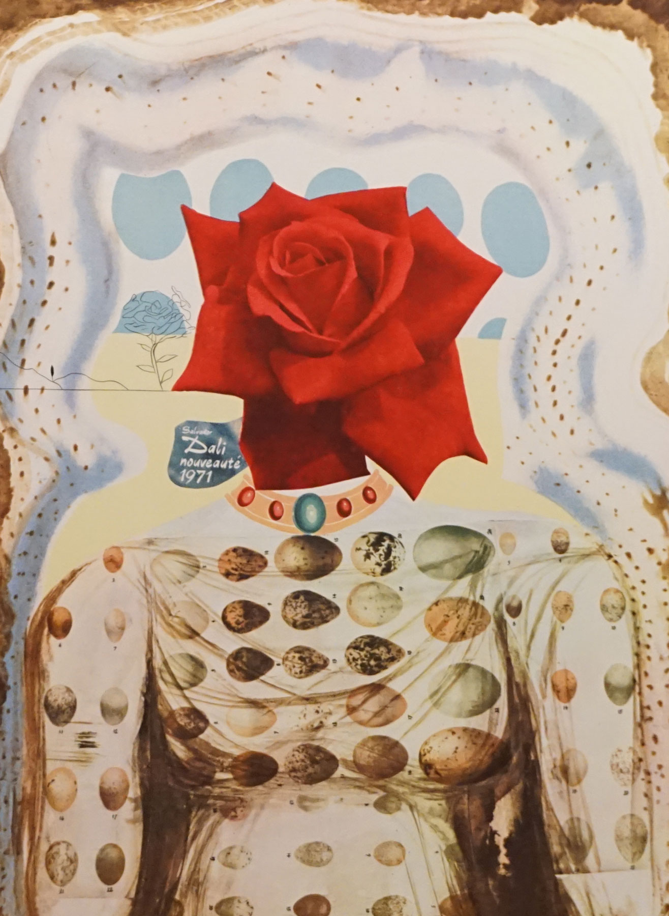 Memories of Surrealism Surrealist Flower Girl 1971