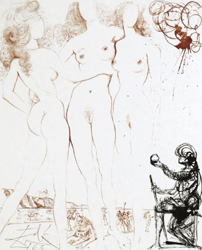 Le Jugement De Paris (The Judgment of Paris) 1963 (early)
