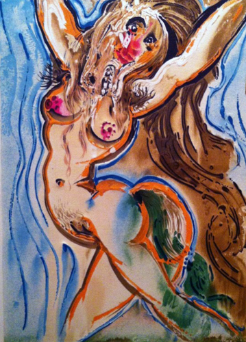 Dalinean Horses, Le Feme Cheval (The Woman Horse) 1972